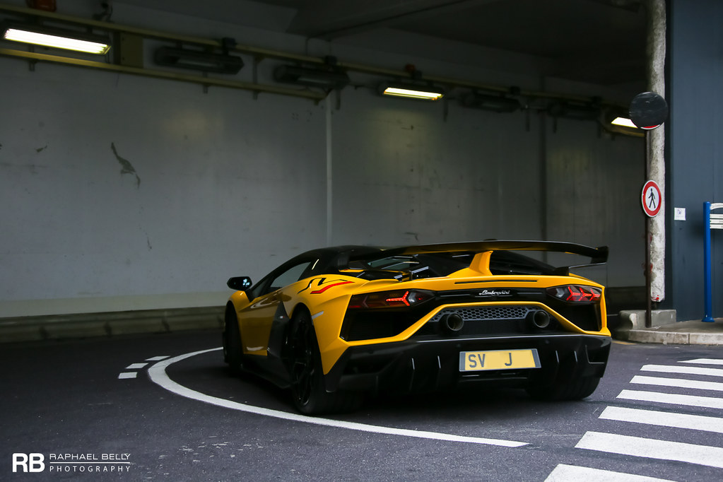 Lamborghini Aventador Lp770 4 Svj Raphael Belly Flickr