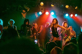 I saw Lords of Acid last week 24 years and 5 after the last time I saw them. It was interesting, particularly this part where the band invited all the women in the audience onstage for a rendition of 'Pussy' | by benallenphotos