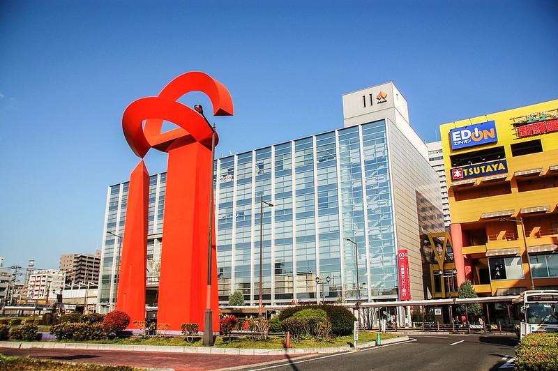 大阪堺駅前雕塑(ARCO FÉNIX)