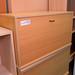 Beech top open top single door wall storage E30