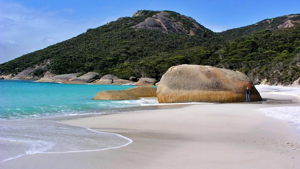 Little Beach an der Bay of Plenty