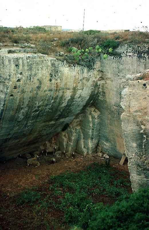 Lithica Quarries of s'Hostal, Menorca, Spain