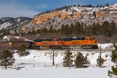 bnsf bnsf8480 emd sd70ace palmerlake colorado jointline palmerdivide train railroad