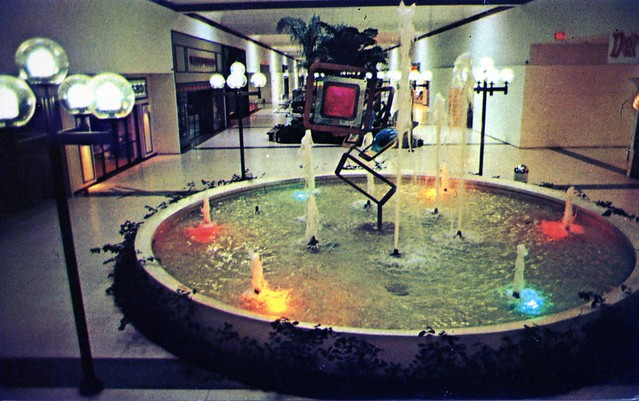 Grand Central Mall Fountain between Parkersburg and Vienna WV