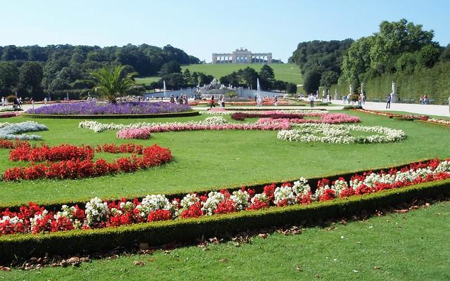 Viena, Schönbrunn, jardines  Palacio