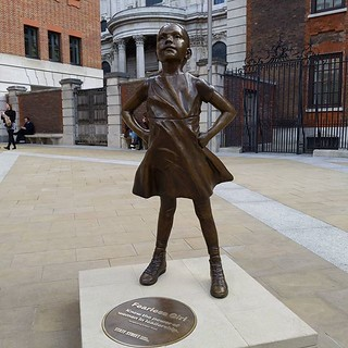 Fearless Girl, London | by Dave Cross