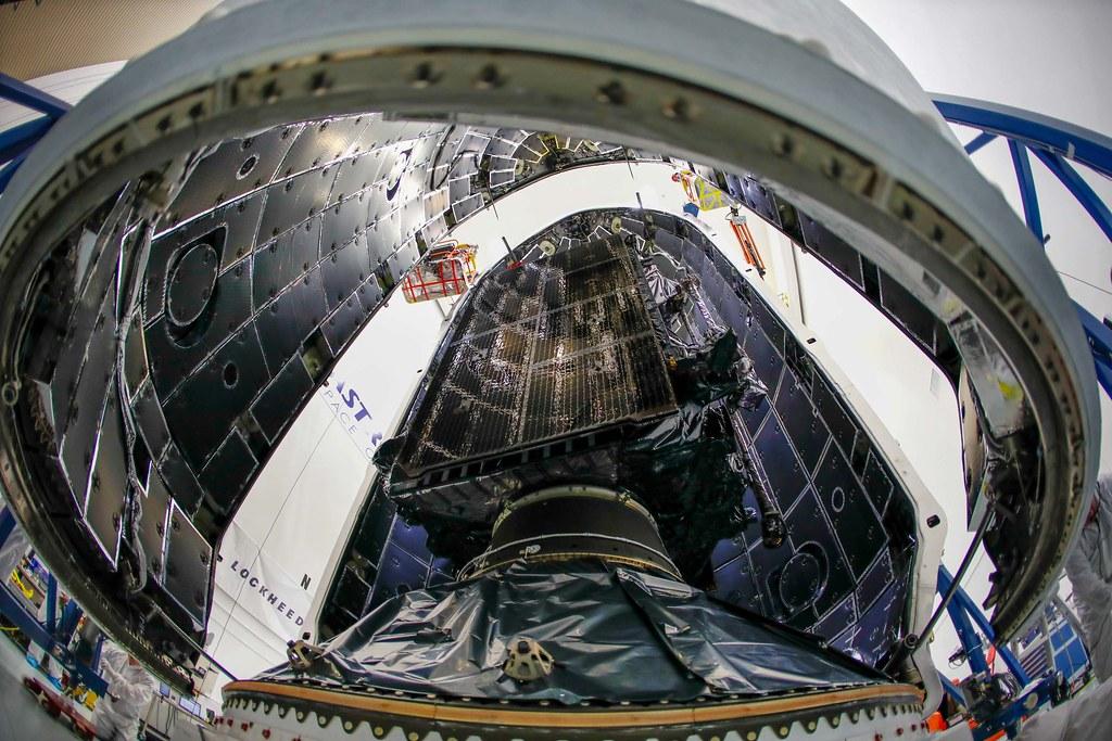 GPS III SV01 Encapsulation