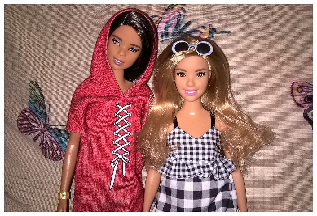 2018 Barbie Fashionistas 89 - Tall & 96 - Curvy