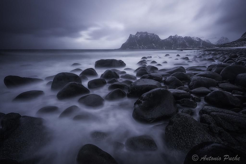 Rocas, agua y Luz