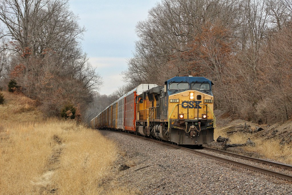 Csx 325 At Mt Vernon Illinois Southbound On The Up Mt Ver Flickr