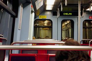 Late day commutes  #portugal #commute #street #lisbon #t3mujinpack | by t3mujin