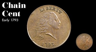 1793 Chain Cent still from The Cent video | by Numismatic Bibliomania Society