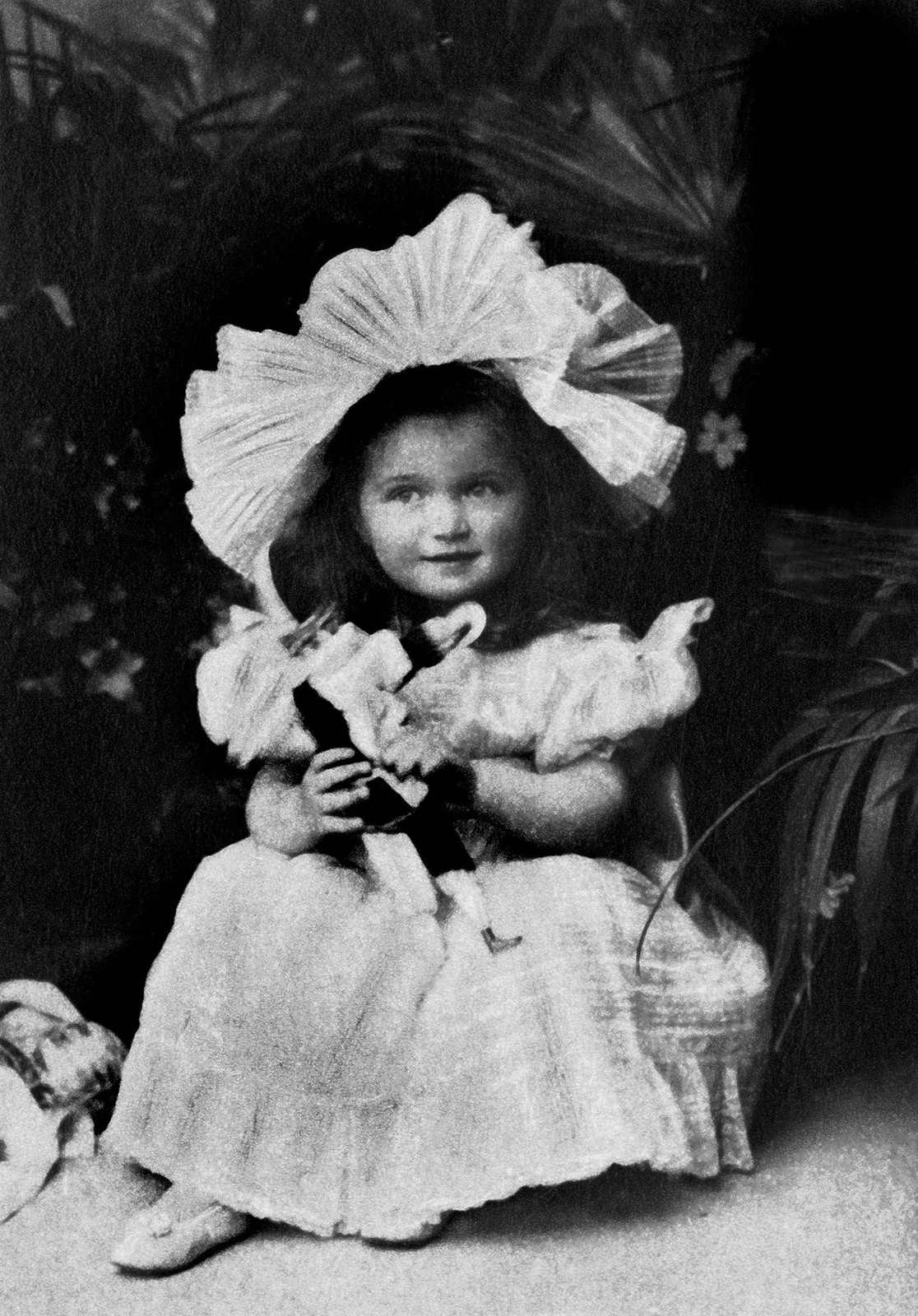 1898. Великая княжна Ольга в детстве