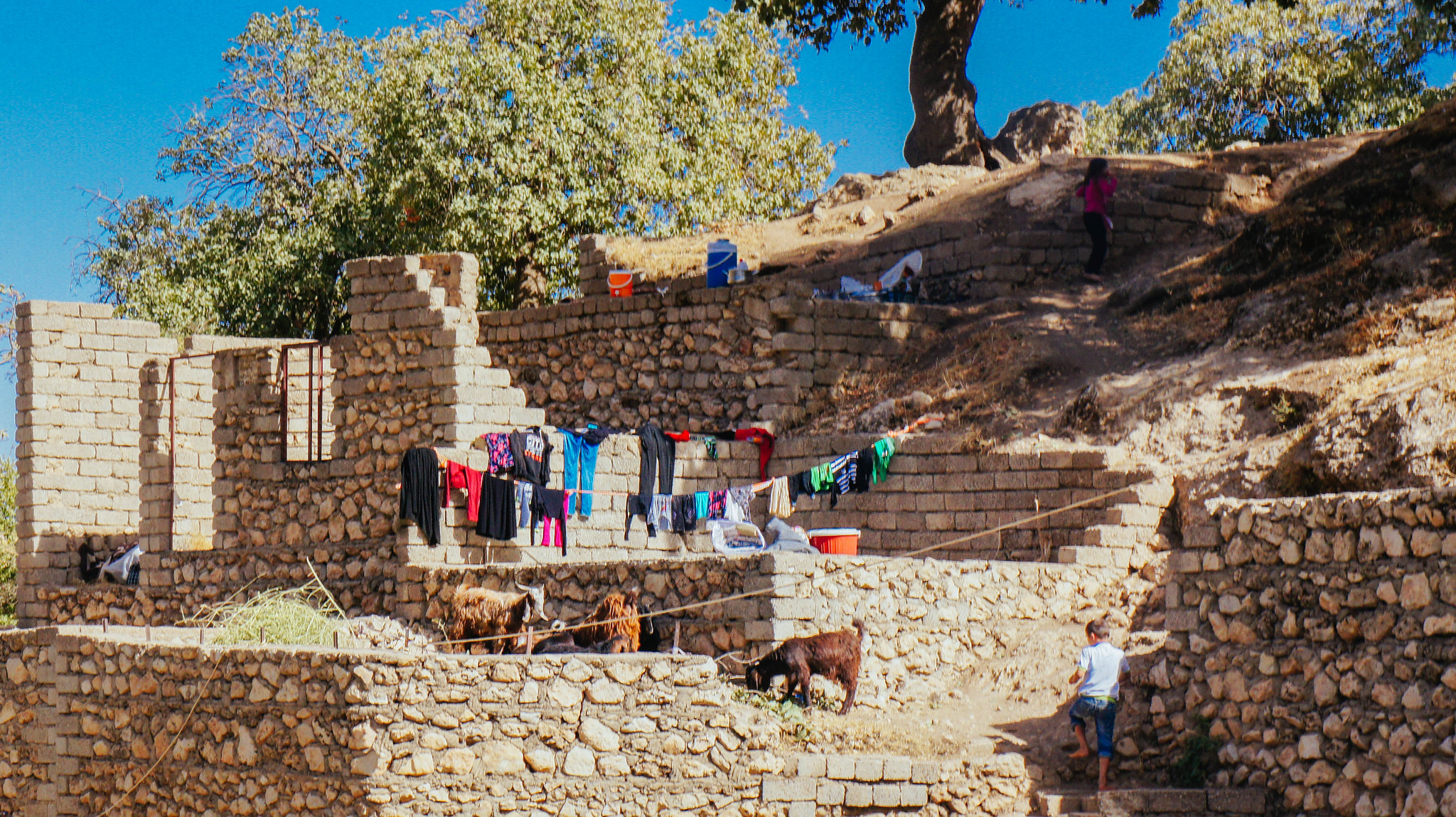 Laundry in Lalish