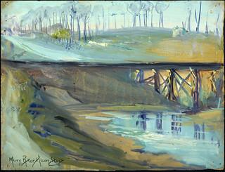 Bridge Spanning the Ypres–Yser Canal / Pont traversant le canal qui relie Ypres à l'Yser