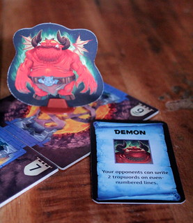 Demons are a wordy bunch   by MeoplesMagazine