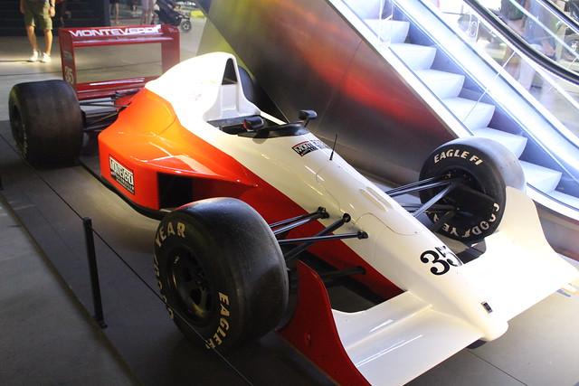 1991 Monteverdi ORE-2 unraced F1 car
