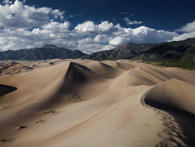 Great Sand Dunes. Colorado