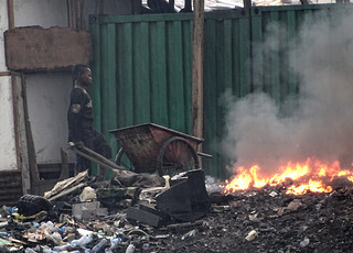 Fueling the fires at Agbogbloshie dumpyard