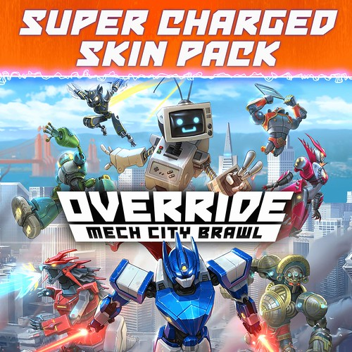 Override: Mech City Brawl – Super Charged Skin Pack