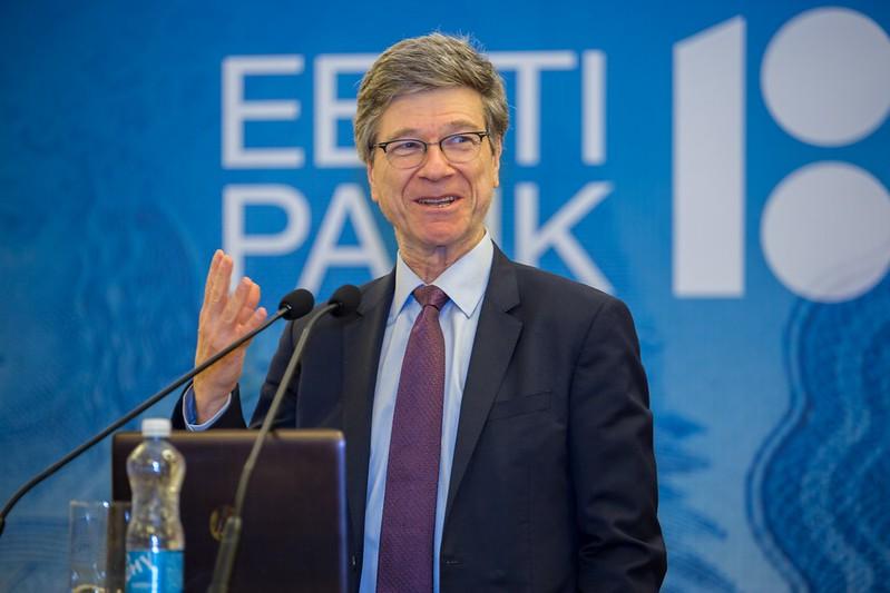 EP100 avalik loeng: Jeffrey Sachs