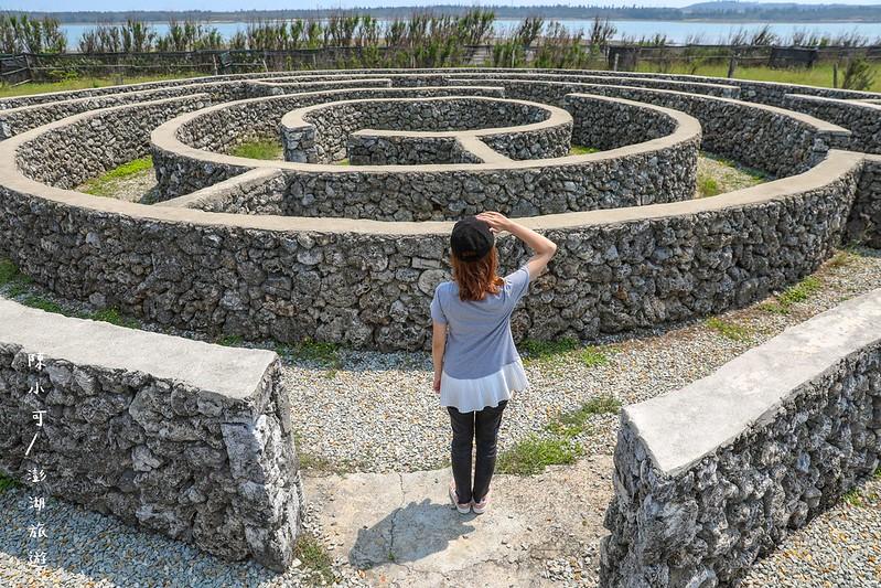 東石環保公園,澎湖旅遊,澎湖旅遊景點推薦,澎湖景點,硓𥑮石迷宮 @陳小可的吃喝玩樂