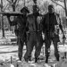 Vietnam Memorial Black and White