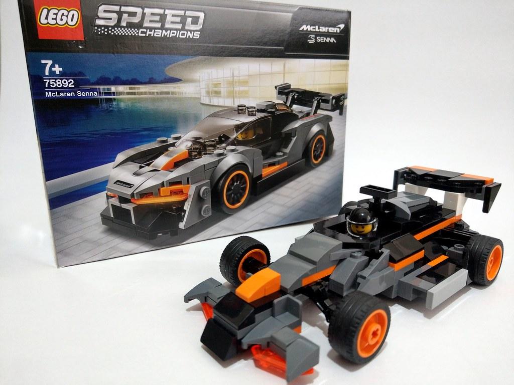 Lego Speed Champions 75892 McLaren Senna    F1 (alternativ