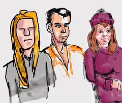 Doodle people #digitaldrawing