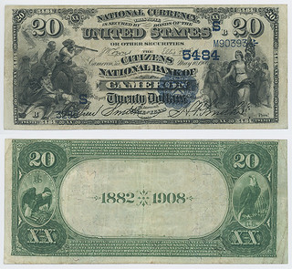 United States $20.00 (twenty dollars) national currency | by SMU Libraries Digital Collections