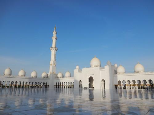 Abu Dhabi - Sheikh Zayed Grand Mosque - 7