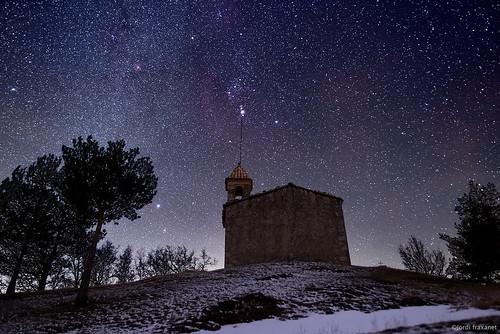 Puig Aguilar i nebulosa d'Orió
