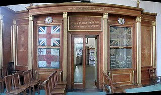 Memorial Wall in St Chad's, Shrewsbury | by jackdeightonsf