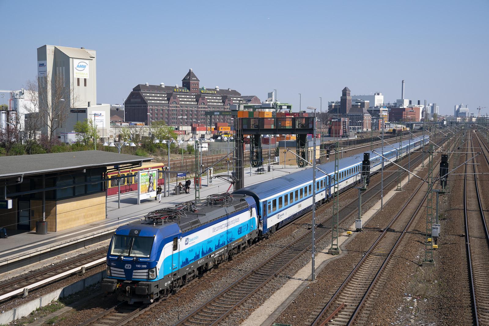 CD 193 | Berlin S-Bahnhof Beusselstrasse