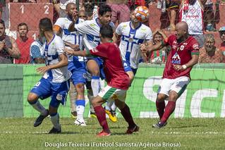 Portuguesa Santista 1 x 2 Água Santa, jogo válido pelo Paulistão A2 de 2019, disputado no dia 10 de fevereiro, no estádio Ulrico Mursa | by Futebol Santista