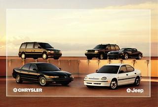 1995 Chrysler-Jeep Vehicles (Netherlands)