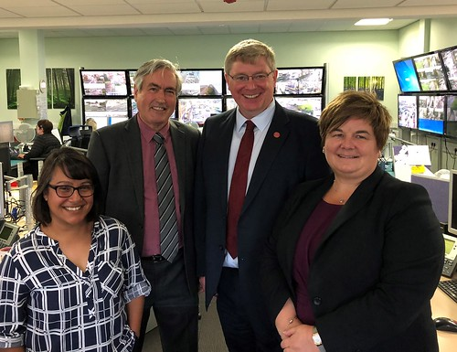Visiting Children's Service team at East Lothian Council | by Iain Gray MSP