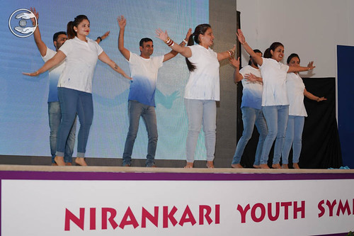 An action song by young devotees