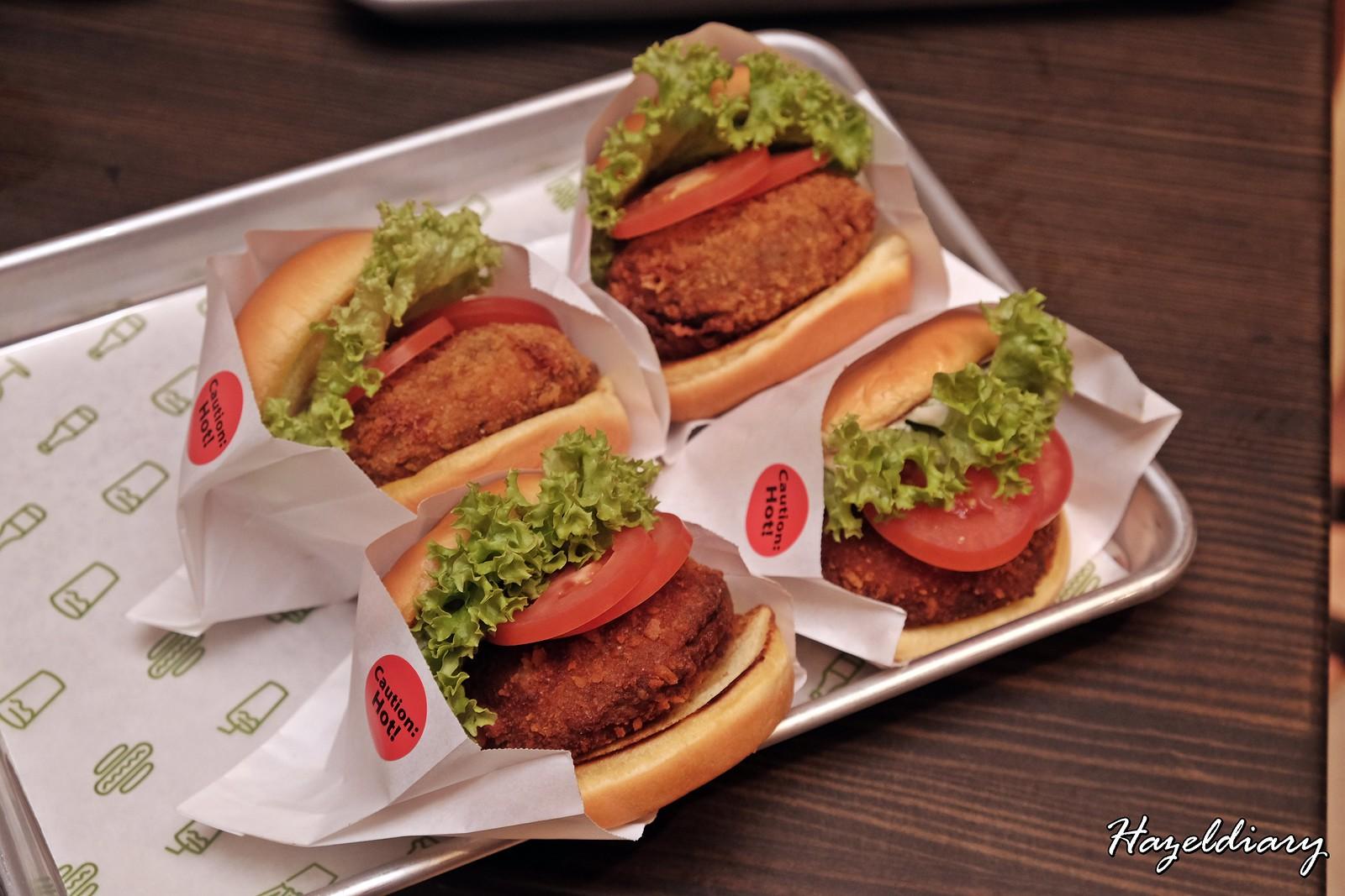 Shack Shack Singapore-Portobello Mushroom Burger