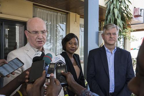 AU-UN Joint mission arrival to Bangui | by UNMINUSCA