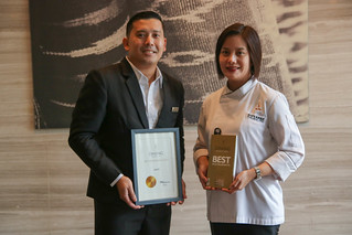 Asst. F&B Manager Jules Melencion and Executive Sous Chef Giovanna Sibala | by Mommy in the CiTy