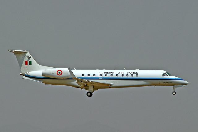 K3604   Embraer ERJ-135BJ Legacy [14500919] (Indian Air Force) Mumbai-Chhatrapati Shivaji Int'l~VT 02/03/2008