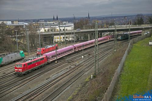111 032 DB . E 13462 . Aachen  West . 16.01.19.