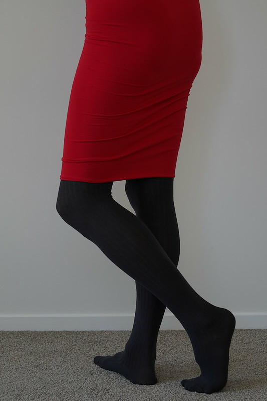 Wolford Fine Cotton Rib tights 16