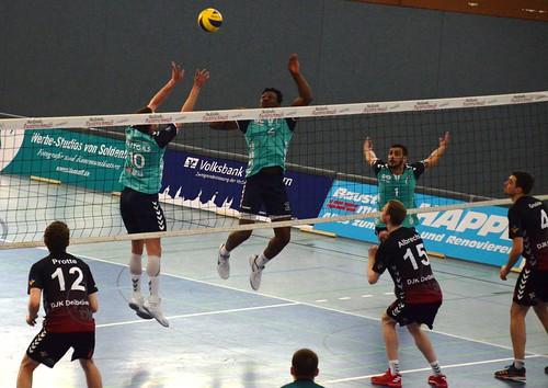 DJK Graf Spork Delbrück 0:3 Chemie Volley Mitteldeutschland