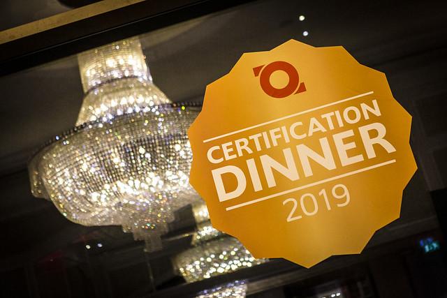 Top Employers UK Certification Dinner 2019