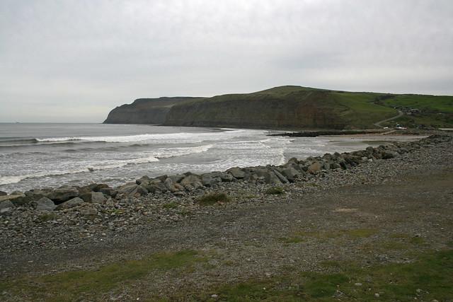 The beach at Skinningrove