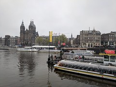 Prins Hendrikkade view from Cental station