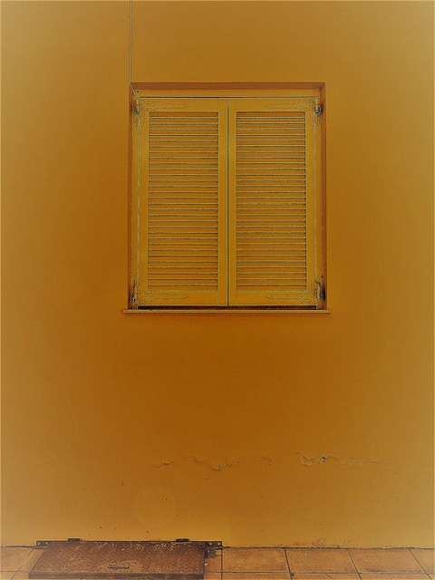 What's lurking behind the shutters and underneath the street hatch?