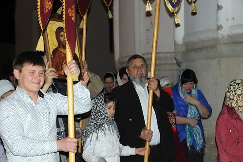 Пасхальное Богослужение в Свято-Никольском храме станицы Кавказской IMG_1230